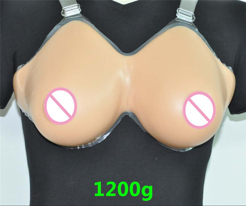 1 Pair 1200g D Cup Dark Artificial Breasts faux seins Silicone Breast Forms Fake boobs Tits realistic silicone breasts shemale 2200g pair 38i 40h 42g 44f enormous breast fake realistic artificial silicone breasts forms for transgenders breasts increase
