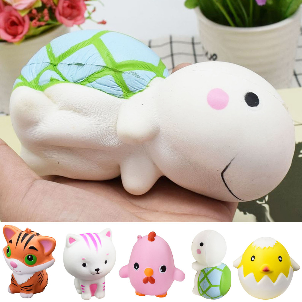 Cellphones & Telecommunications Kawaii Jumbo Squishy Tiger Squeeze Bread Super Slow Rising Animal Phone Straps Soft Scented Cake Toys Doll Gift Suitable For Men And Women Of All Ages In All Seasons