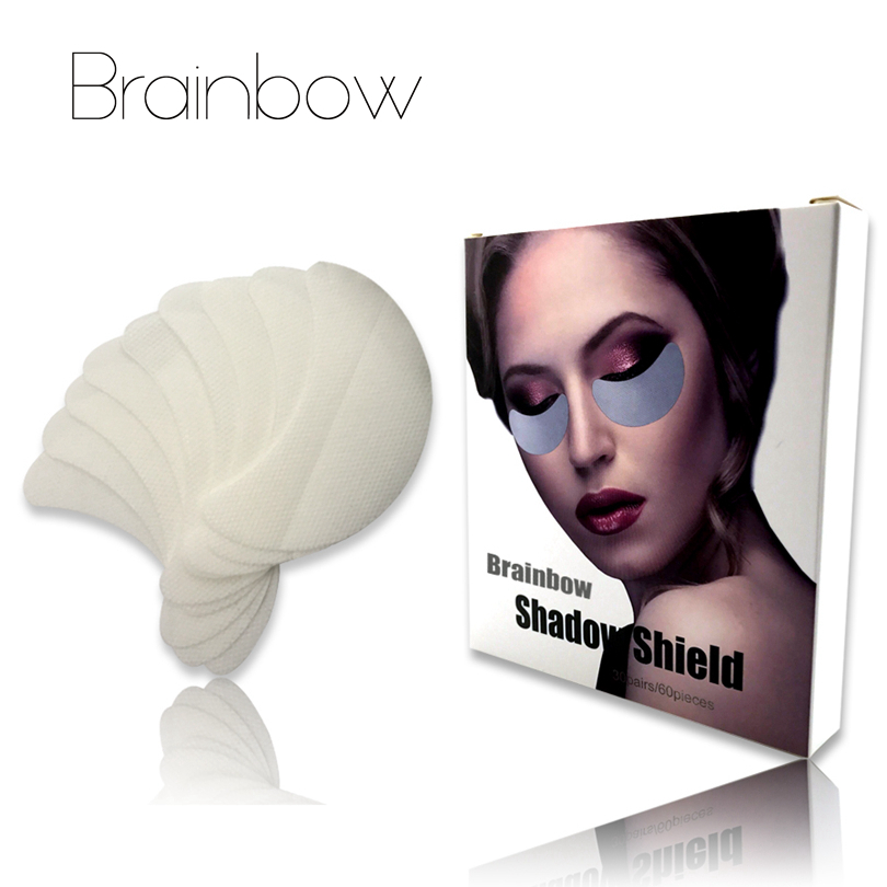 Brainbow 30pair / box (60pc) Одноразові тіні для - Макіяж