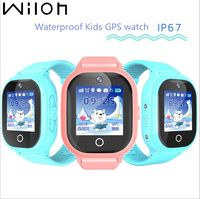 2018 Hot GPS Tracking Watch For Kids IP67 Waterproof GPS Smart Watch Swimming Camera Children Watch