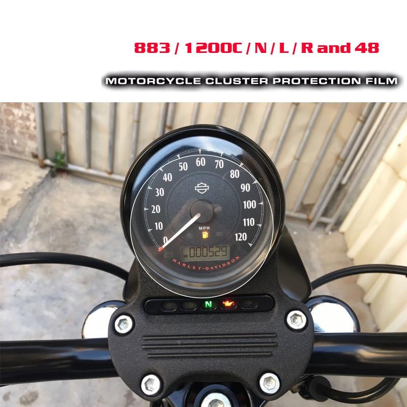 Для Harley 883 / 1200С / Н / Л / Р И 48 кластера Скреста-защитная пленка протектор экрана для Harley 883 1200С / Н / Л / Р 48