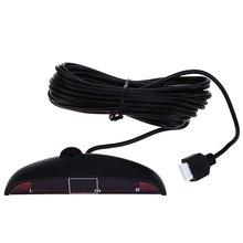 Car Parking Sensor Kit with LED and 4 Sensors