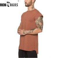Brand Mens Cotton T Shirt 2017 Summer New Gyms Fitness Bodybuilding Shirts Male Fashion Casual Short