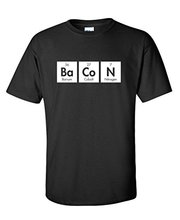 The Elements Of Bacon Men's Very Funny Geek Science Shirt Nerd Math T Shirts