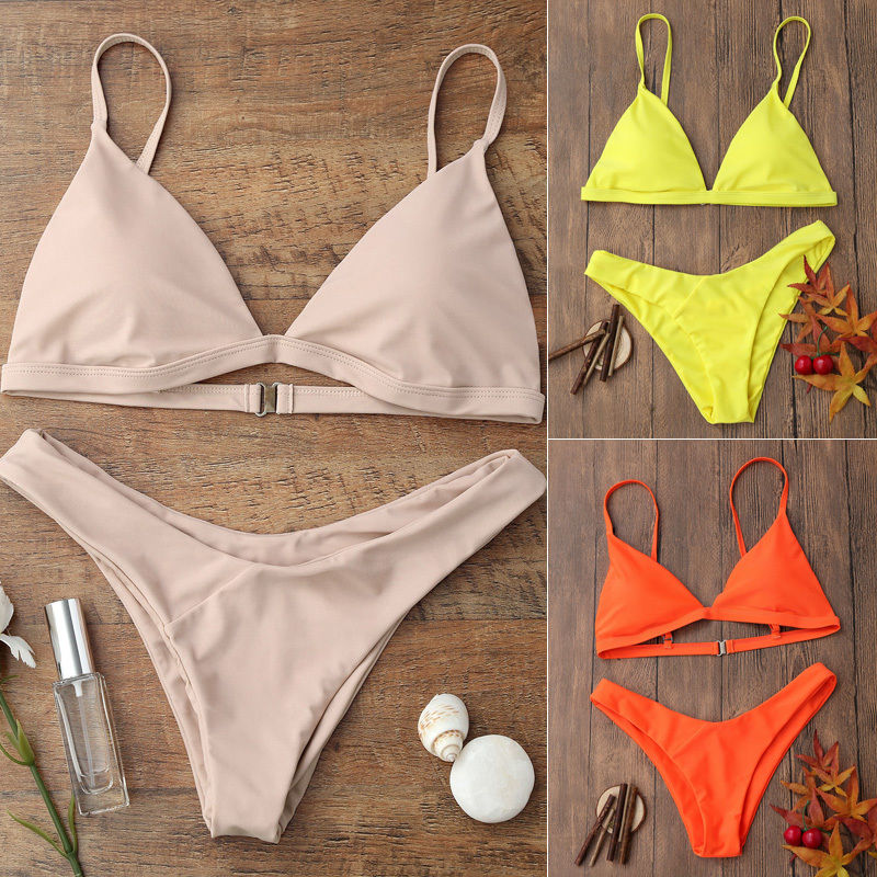 Summer New Swimwear Women Sexy Push Up Padded Bra Bikini Set Tankini Triangle Swimsuit Bathing Suit Beachwear summer new swimwear women sexy push up padded bra bikini set tankini triangle swimsuit bathing suit beachwear