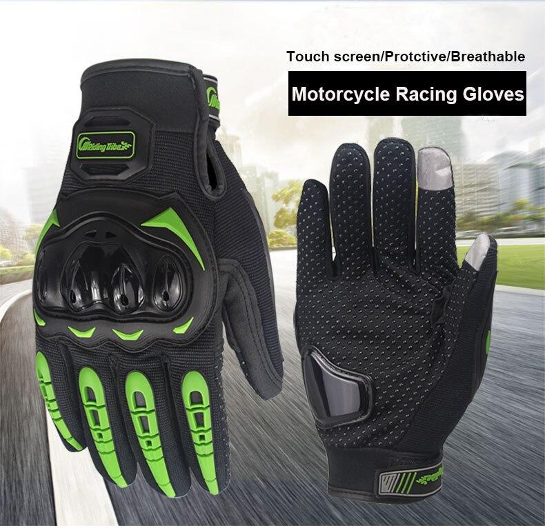 Touch Screen Guanti Guanti da Moto Inverno /& Estate Motos Luvas Guantes Motocross Equipaggiamento Protettivo Guanti da Corsa