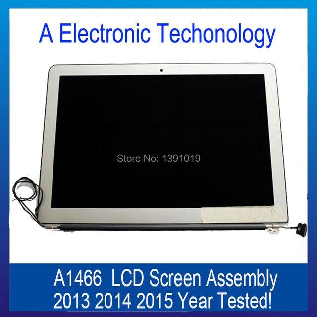 Испытано Оригинальный A1466 ЖК-Экран Ассамблею Для Macbook Air 13 ''2013 2014 2015 Год Ноутбук Верхняя Полная Замена Запчастей