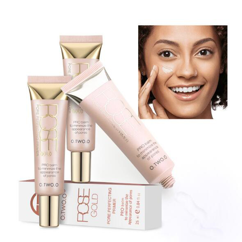 O.TWO.O Face Primer Make Up Base Liquid Foundation Oil-Control Moisturizing Face Smoothing Transparent