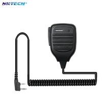 NKTECH Handheld Microphone Shoulder Speaker for BAOFENG Walkie Talkie UV-5R UV-5RA/B/C/E UV-3R plus BF-888s BF666s HighQuality
