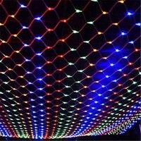 Comprar Luz LED 8x10 8 tipos de patrones de tejido de cuerda luces de Navidad Luces De
