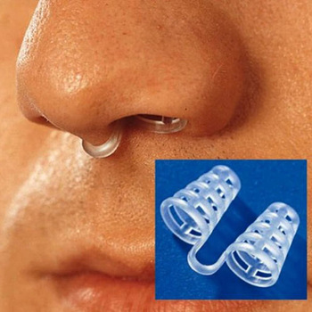2PCS Professional Anti Snoring Device Anti Snore Nose Clip Relieve Snoring Snore Stopping Health Care For Men Women #85185 1