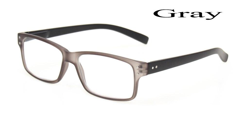 ⊹Fashionable Plastic Frame Metal Temple Reading Glasses High ...