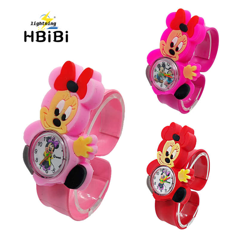 Relogio Infantil Cartoon 3D Life Waterproof Kids Watches Rubber Quartz Children's Watch for Girls Boys Cute kid Clock Baby