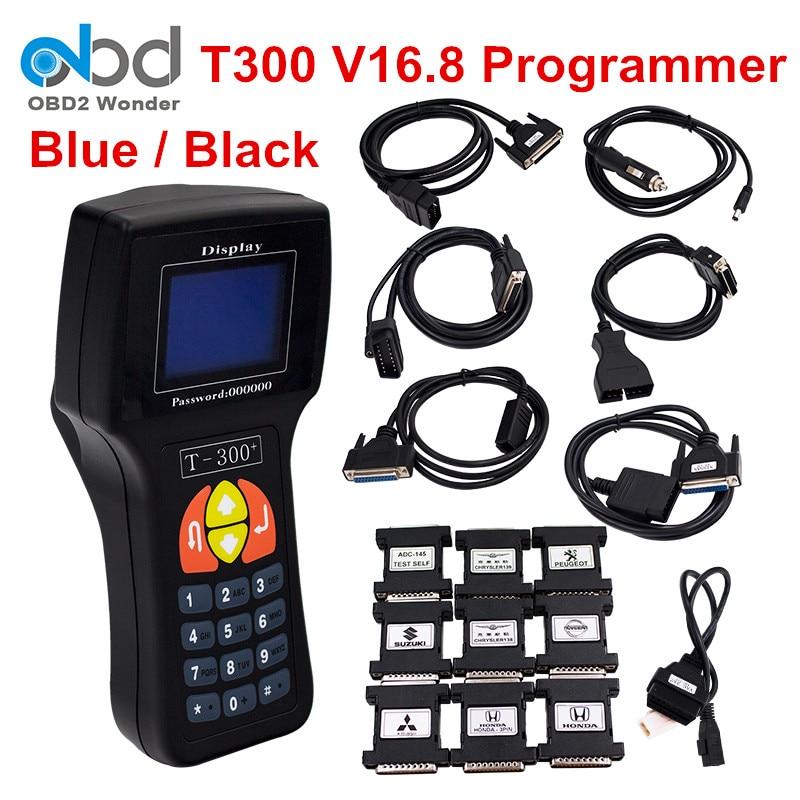 Prix pour Professionnel T-300 T300 Auto Key Programmeur T Code T 300 Logiciel 2016 V 16.8 Support Multi marque Voitures T300 Key Maker 2 couleur
