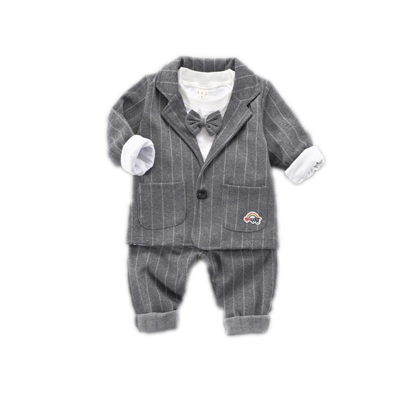 Spring childrens wear Korean version of small suits boys and children suit autumn new cotton children three-piece setSpring childrens wear Korean version of small suits boys and children suit autumn new cotton children three-piece set