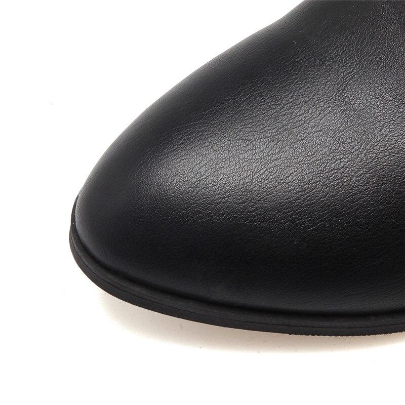 Mode Taille Grande Sexy Genou Le 2018 Chaussures Femmes Pu Cuisse Dentelle Noir Hiver gris 44 black Haute 33 Automne Bottes Memunia Up Femme Pu Black Sur Suede fUOExwU