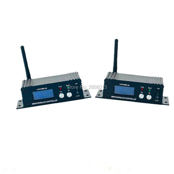 2pcs 400M Effective Range DMX512 Wireless Receiver Transmitter DMXLED Lighting Controller Transmitter & Receiver 2in1 Repeater