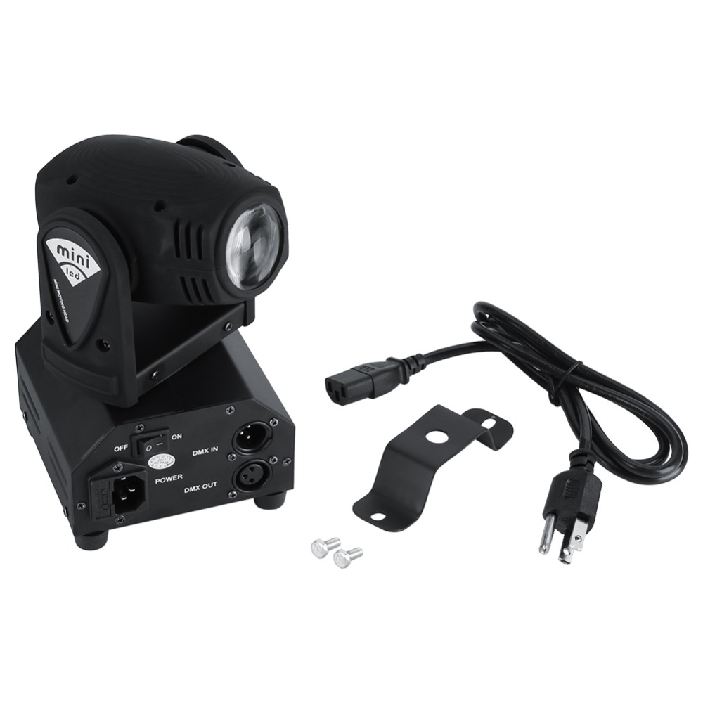 Expressive 2pcs/lot 4 In 1 Rgbw Lighting 50w Led Moving Head Stage Light Dmx512 Disco Dj Party Effect Lights For Clubls Ktv Pub Stage Etc Commercial Lighting