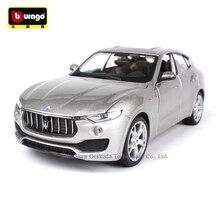 Bburago 1:24 Maserati SUV manufacturer authorized simulation alloy car model crafts decoration collection toy tools цены онлайн