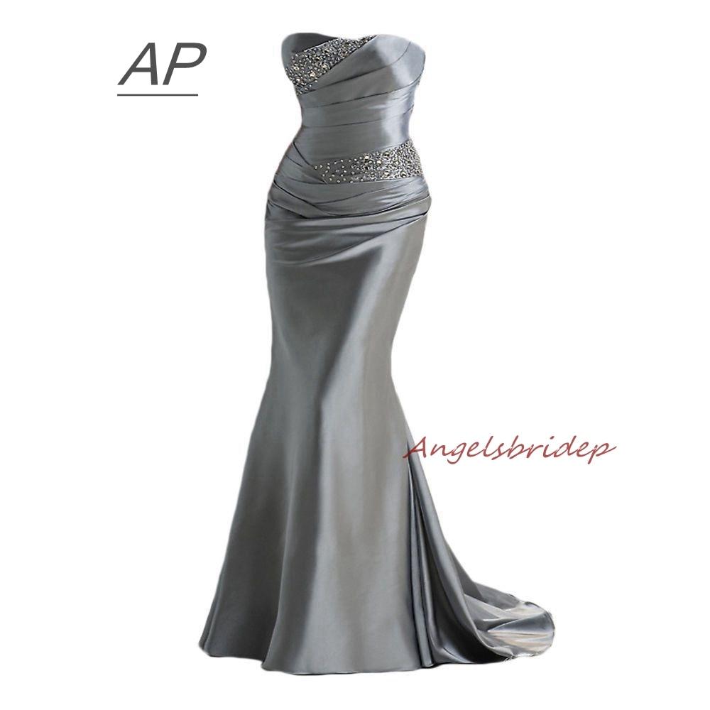 ANGELSBRIDEP Mermaid Bridesmaid Dresses Fashion Brading Robe Demoiselle D'honneur Formal Party Dresses 2019 Online Hot Sale