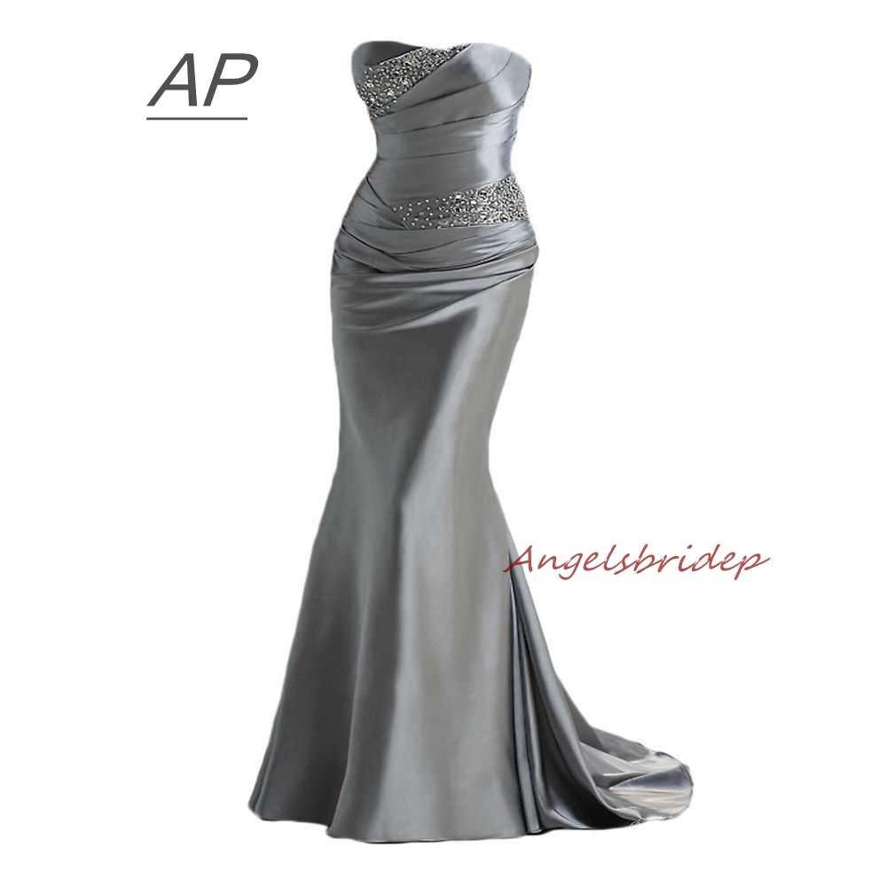 ANGELSBRIDEP Mermaid Bridesmaid Dresses Fashion Brading Robe Demoiselle  D honneur Formal Party Dresses 2019 Online eddf2129a496