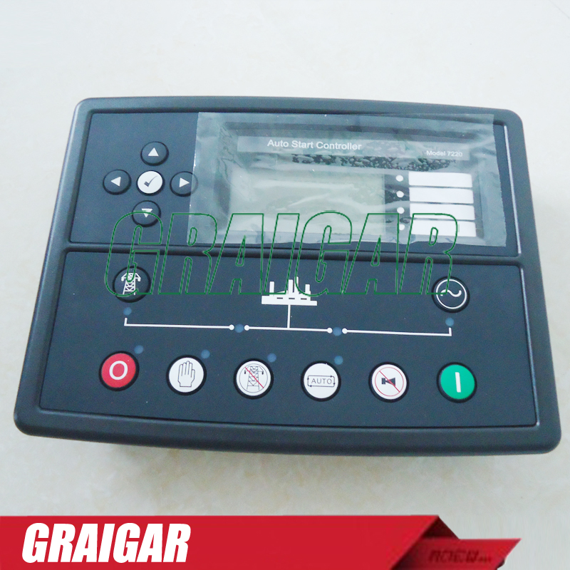 New Generator Controller DSE7220 Auto Start Control ModuleNew Generator Controller DSE7220 Auto Start Control Module