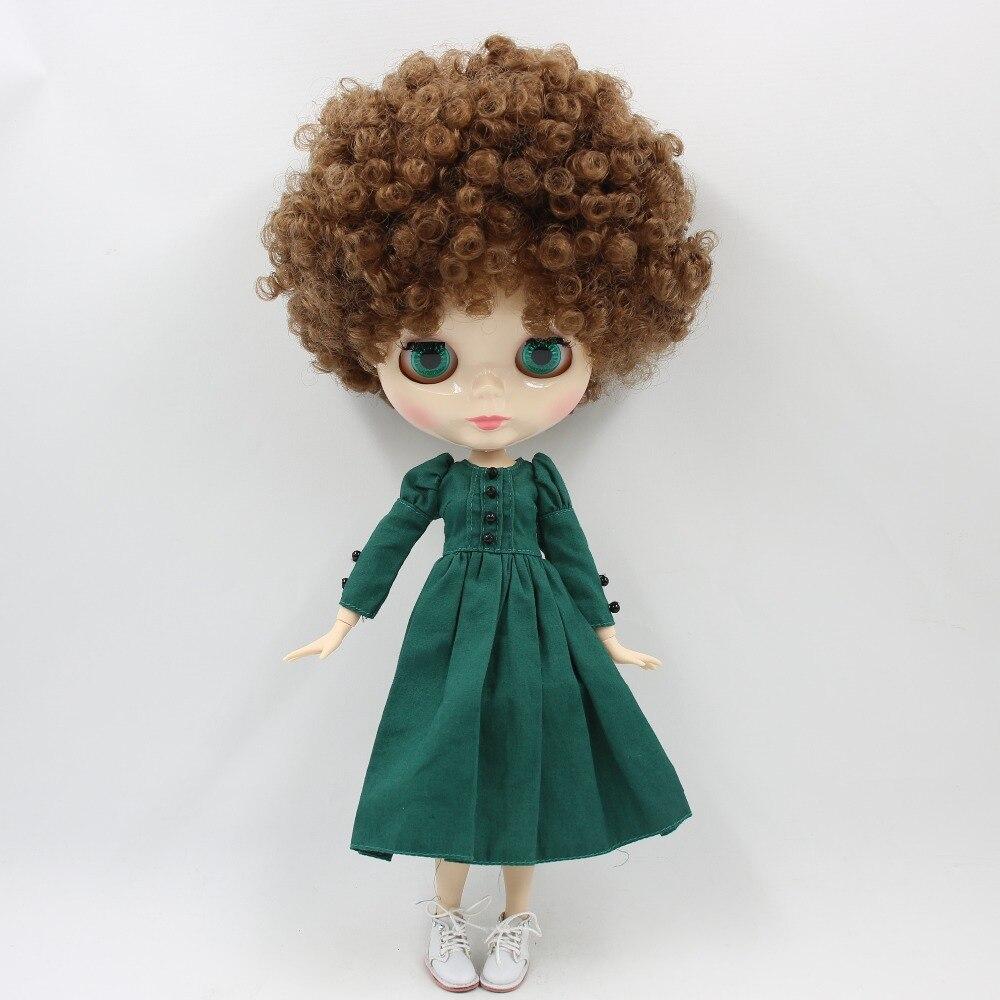 ICY vermögen tage fabrik blyth puppe 1/6 bjd weiß haut joint körper Afro braun haar 150BL9158-in Puppen aus Spielzeug und Hobbys bei  Gruppe 3