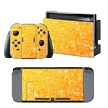 Newly Arrival Vinyl Skin Sticker for Nintendo Switch Console Protector Cover Decal Vinyl Skin for Skins Stickers 0071