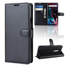 Bookcover For Oneplus6T Luxury Leather wallet Cases for 1+7 Pro Cover heavy duty shockproof cover for oneplus7 100pcs DHL Free