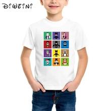 цены на Batman kids t-shirts illustration Batman Print Tee Tops For Boys Cartoon Print Boy Tshirts Fashion Kids Tshirt Tops Boys Clothes  в интернет-магазинах