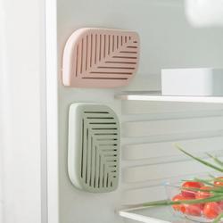 Форма зеленого листа, холодильник на холодильник, очиститель воздуха, угольный дезодорант, абсорбирующий освежитель, устраняет запахи, зап...