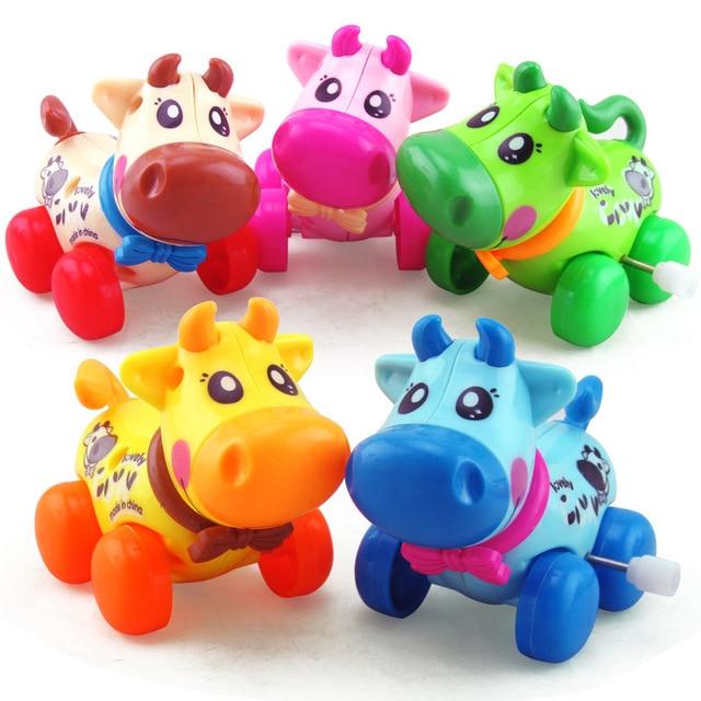 Wind Up Toys Vintage Toy for Boys Tortoise Mechanical Clockwork Cow Cartoon  Cute Kwaii Mini 2018 Plastic Wholesale