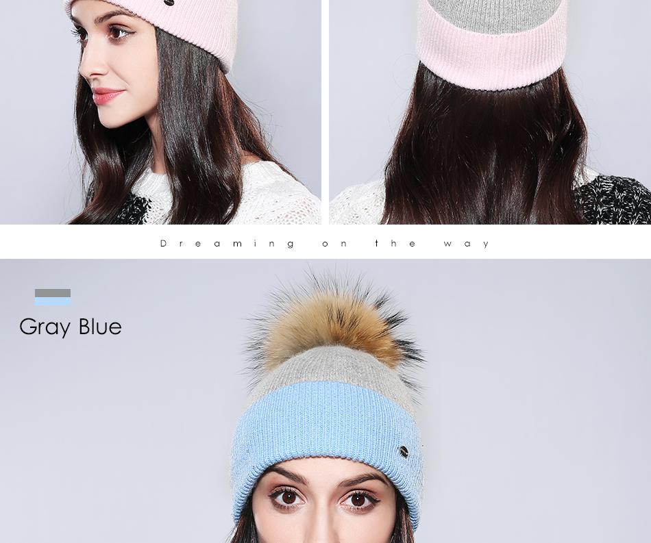 Winter Hat For Women MZ744 (17)