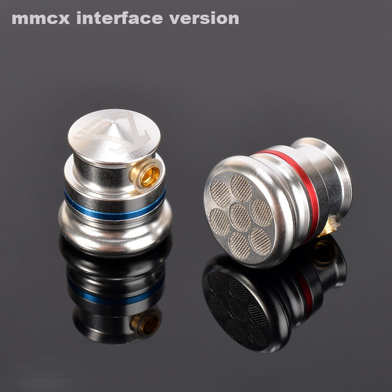 2017 PIZEN new diy mmcx cable TY2 Pro Earbud Full Metal Housing Coaxial Double Dynamic HIFI Fever Metal Earbud MMCX Earphone 1