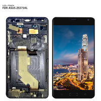 Free Shipping For ASUS ZenFone AR ZS571KL LCD Display Touch Screen Digitizer Glass Assembly with Frame