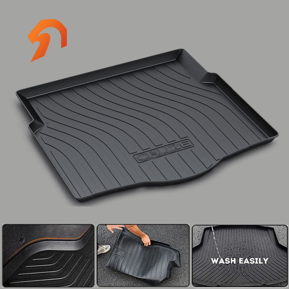 Cargo Liner Trunk Mats for Chevrolet CRUZE ORLANDO Captiva TRAX 2011-2014 2015 2016 2017 BOOT LINER REAR TRUNK CARGO FLOOR MAT custom fit car trunk mats for nissan x trail fuga cefiro patrol y60 y61 p61 2008 2017 boot liner rear trunk cargo tray mats