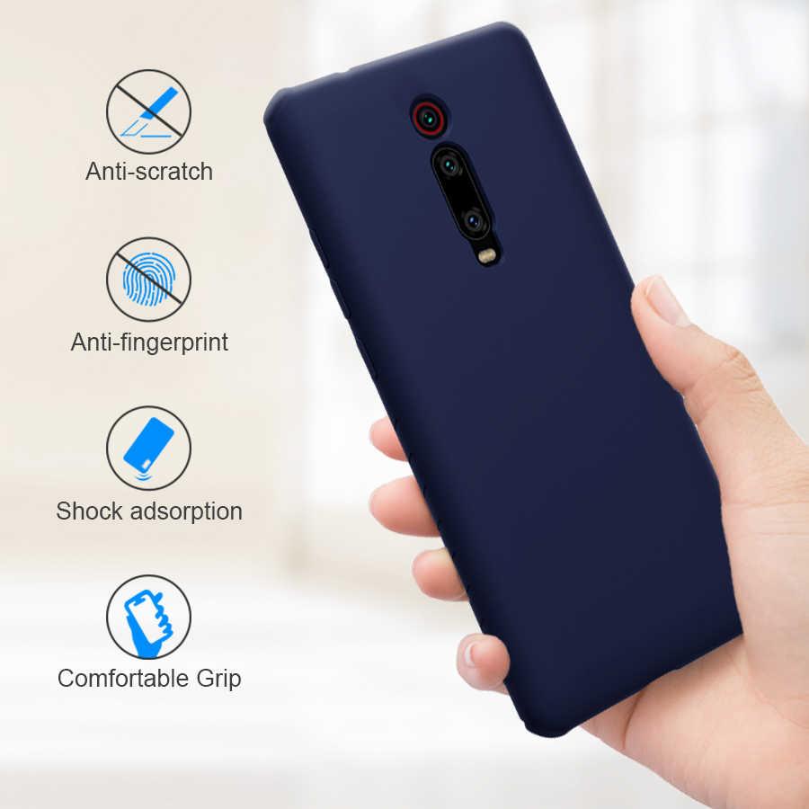 NILLKIN untuk Xiaomi Redmi K20 Pro Case Cover Silikon Halus Pelindung Back Cover untuk Xiaomi Mi 9 T Mi 9 T PRO Redmi k20 Case 6.39
