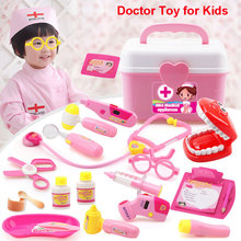 Doctor Toy Set 17-22pcs Pretend Play Medical for Kids Cosplay Clothing Stethoscope Educational