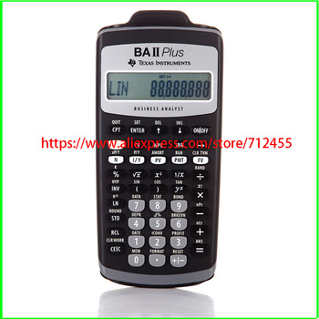 NEW Texas-Y Instruments TI-BAII PLUS Financial Calculator CFA Approved BAII FRM/CFA image