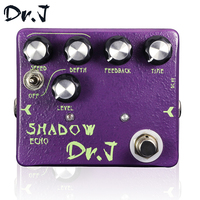Dr J D54 Stompbox Echo Hand Made Analog Delay Guitar Effect Pedal True Bypass Musicial Instrument