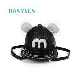 Hanysen 2017 summer new women soft pu leather cute mini mickey hat fashion backpacks preppy style.jpg 250x250