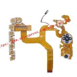 Przycisk tylnej pokrywy kabel fpc część naprawcza aparatu do lustrzanki Nikon D500