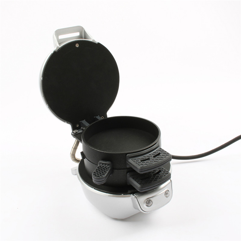 DMWD Home Small Automatic Sandwich Maker Hamburger Breakfast Machine Bread Panini Toaster Frying Egg 220V