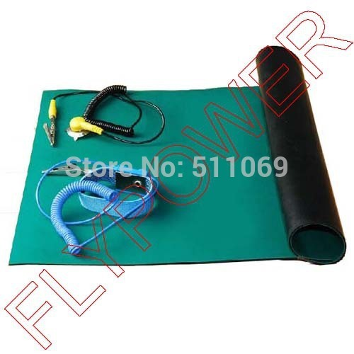60cm x 120cm HQ ESD Mat BGA Antistatic Mat Antistatic Blanket For Repair Work by free shipping