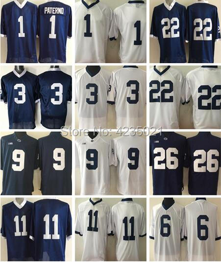 26 Saquon Barkley 9 Trace McSorley 1 Joe Paterno 22 Akeel Lynch College Football Jerseys Stitched ...