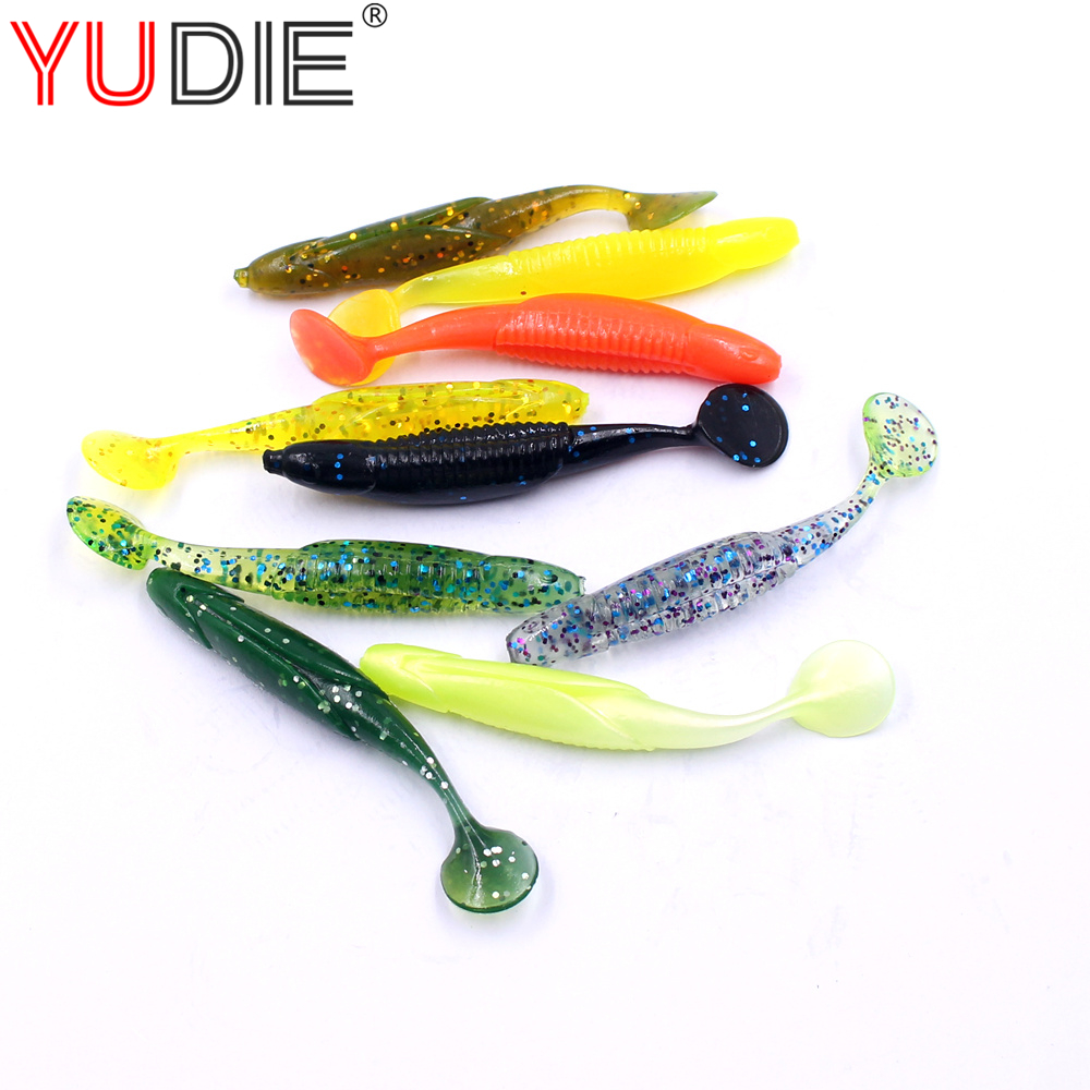 1pcs 9cm 6g Bright T-Tail Soft Lure For Sea Carp Fly Fishing Spinner Bait Accessories Jig Hooks Tool Wobblers Fish Sport lures mnft 1 bottle of 40g viscose bait carp glue gluey fishing lure tool