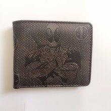 Deadpool Wallet Marvel Comics X-Man Bifold Black PU Leather