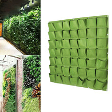 Wall Hanging Planting Bags 25/36 Pockets Green Grow Bag Planter Vertical Garden Vegetable Living Home Supplies