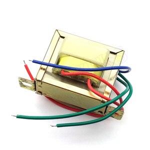 Image 4 - Ферритовый сердечник EI 20 Вт, вход 220 В, 50 Гц, Вертикальное Крепление, Электрический силовой трансформатор, выходное напряжение Doubel 12 В