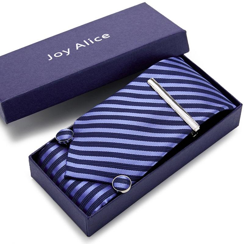 3.14inch Wide Tie Man Wedding Tie Paisley Jacquard Arrow Men Tie, Handkerchief, Pin Cufflinks Gift Box Packaging Business